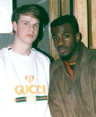 With Maestro Fresh Wes, a Canadian legend (1989)